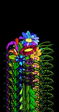 Bilde av Fille offrant des fleurs, (c) SanK